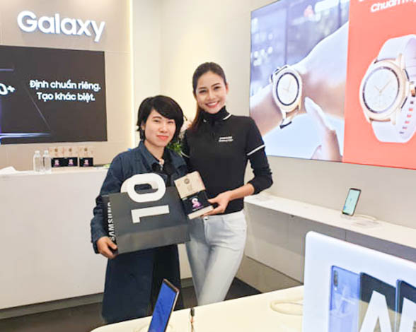 SAMSUNG EXPERIENCE STORE S'PERT