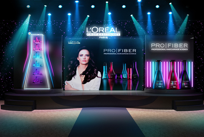 L'OREAL - PROFIBER LAUNCH