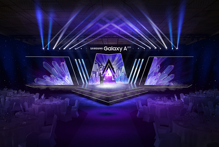 SAMSUNG - GALAXY A LAUNCH