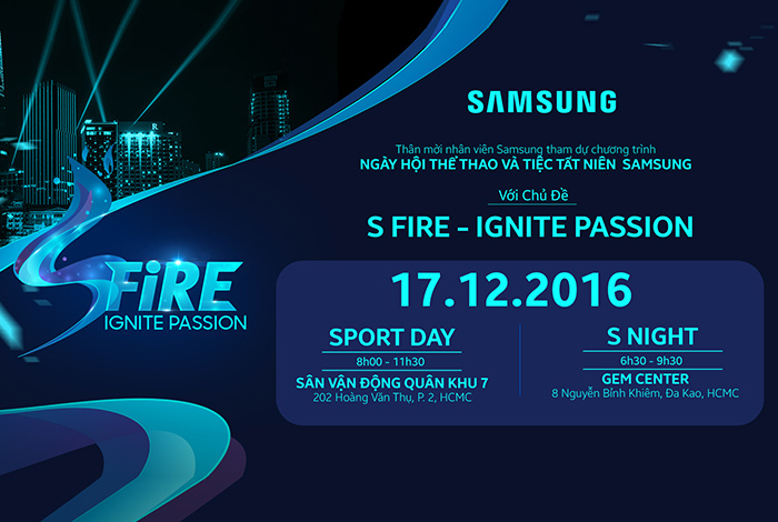 SAMSUNG - SFIRE IGNITE PASSION
